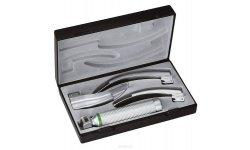 Laryngoskop RIESTER ri-integrall, łyżki Macintosh 2, 3 i 4, XL 2,5 V, rękojeść bateryjna typu C