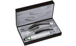 Laryngoskop RIESTER  ri-modul, łyżki Macintosh 2, 3 i 4, XL 2,5 V, rękojeść bateryjna typu C