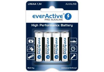everActive LR6/AA Pro Alkaline 4 szt