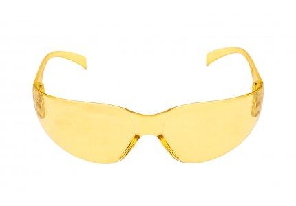 Okulary ochronne żółte rozjaśniające 3M
