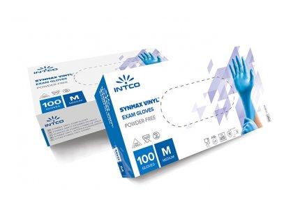 INTCO SYNMAX rękawice winylowo-nitrylowe PF r. L