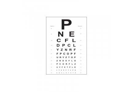 SNELLENA Tablica okulistyczna